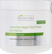 Parfémy, Parfumerie, kosmetika Antioxidační maska s řasami - Bielenda Professional Face Program Antioxidant Algae Face Mask With Matcha