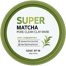 Parfémy, Parfumerie, kosmetika Čisticí jílová pleťová maska - Some By Mi Super Matcha Pore Clean Clay Mask