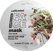Parfémy, Parfumerie, kosmetika Pleťová maska Chia a olivy - Cafe Mimi Face Mask