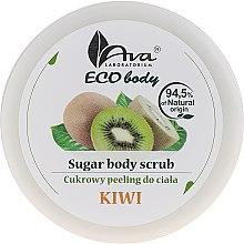 "Parfémy, Parfumerie, kosmetika Tělový peeling ""Kiwi"" - Ava Laboratorium Eco Body Natural Sugar Scrub Kiwi"