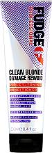 Parfémy, Parfumerie, kosmetika Tónovací kondicionér na vlasy - Fudge Clean Blonde Damage Rewind Conditioner