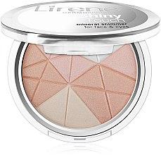 Parfémy, Parfumerie, kosmetika Rozjasňovač na obličej - Lirene Shiny Touch Mineral Shimmer