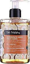 Parfémy, Parfumerie, kosmetika Gel na obličej a tělo Divoká hruška a hloh - Bio Happy Volpina, Pear & Hawthorn Face & Body Wash