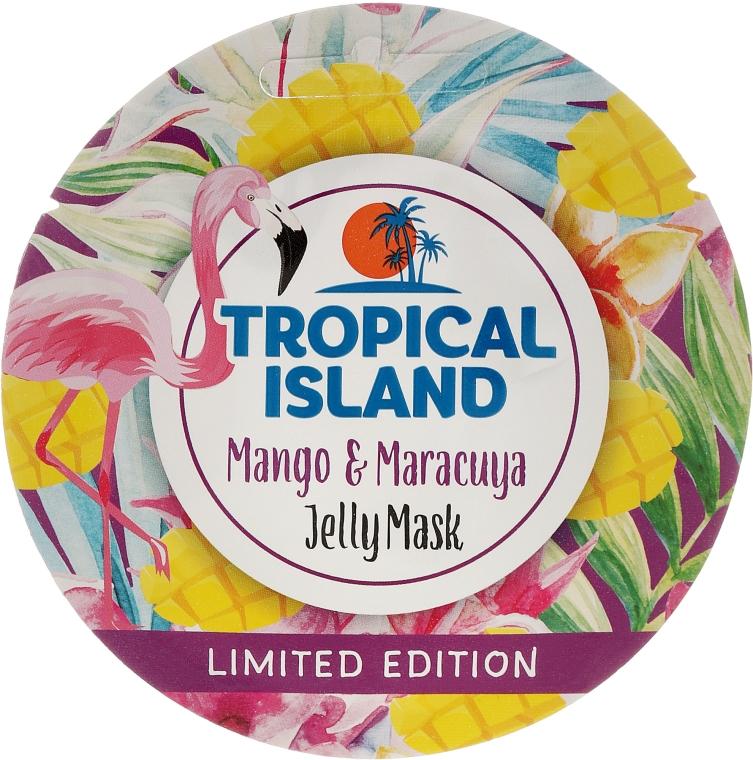 "Maska na obličej ""Mango a marakuja"" - Marion Tropical Island Mango & Maracuya Jelly Mask"
