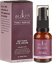 Parfémy, Parfumerie, kosmetika Omlazující krém na pleť kolem očí - Sukin Purely Ageless Reviving Eye Cream