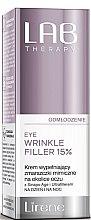 Parfémy, Parfumerie, kosmetika Antivěkový filler pro oblast kolem očí - Lirene Lab Therapy Anti Ageing Eye Cream Eye Wrinkle Filler 15%
