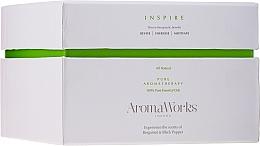 Parfémy, Parfumerie, kosmetika Aromatická svíčka Inspirace se 3 knoty - AromaWorks Harmony Candle 3-wick