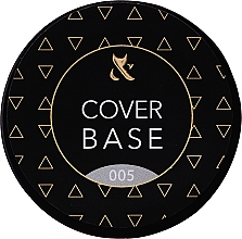 Parfémy, Parfumerie, kosmetika Podkladová kamuflážní báze na nehty (kelímek) - F.O.X Cover Base