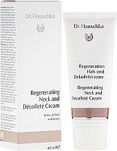 Parfémy, Parfumerie, kosmetika Regenerační krém pro krk a dekolt - Dr. Hauschka Regeneration Hals und Dekolletécreme