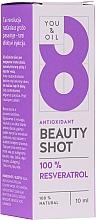 Parfémy, Parfumerie, kosmetika Pleťové sérum - You & Oil Serum Facial N8 Antioxidante Natural Vegano Resveratrol Beauty Shot