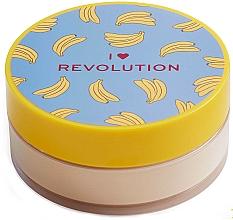 Parfémy, Parfumerie, kosmetika Sypký pudr na obličej Banán - I Heart Revolution Loose Baking Powder Banana