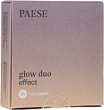 Parfémy, Parfumerie, kosmetika Pudr a tvářenka na obličej - Paese Nanorevit Glow Duo Effect Powder And Blush