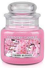 """Parfémy, Parfumerie, kosmetika Vonná svíčka """"Kvetoucí třešně"""" (sklenice) - Country Candle Cherry Blossom"""