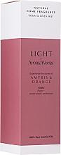 Parfémy, Parfumerie, kosmetika Vonný bytový sprej Amyris a pomeranč - AromaWorks Light Range Room Mist