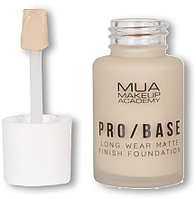 Parfémy, Parfumerie, kosmetika Make-up - MUA Pro Base Long Wear Matte Finish Foundation