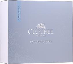 Parfémy, Parfumerie, kosmetika Sada - Clochee Facial Skin Care Moisturising Set (ser/30ml + eye/cr/15ml + candle)