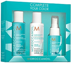 Parfémy, Parfumerie, kosmetika Sada - Moroccanoil Travel Kit Color Complete (shm/70ml + cond/70ml + spray/50ml)