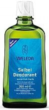 """Parfémy, Parfumerie, kosmetika Tělový deodorant """"Šalvěj"""" - Weleda Sage Deodorant Refill Bottle (náhradní náplň)"""