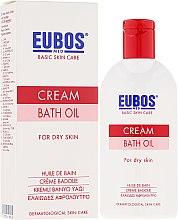 Parfémy, Parfumerie, kosmetika Olej do koupele - Eubos Med Basic Skin Care Cream Bath Oil For Dry Skin