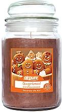 Parfémy, Parfumerie, kosmetika Vonná svíčka Zázvorový perník - Airpure Jar Scented Candle Gingerbread