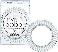 Parfémy, Parfumerie, kosmetika Gumička na vlasy - Invisibobble Slim Crystal Clear