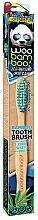 Parfémy, Parfumerie, kosmetika Zubní kartáček měkký, modrý+zelený - Woobamboo Toothbrush Zero Waste Adult Bamboo Soft Bristle