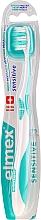 Parfémy, Parfumerie, kosmetika Měkký zubní kartáček, tyrkysový - Elmex Sensitive Toothbrush Extra Soft