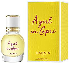 Parfémy, Parfumerie, kosmetika Lanvin A Girl in Capri - Toaletní voda (mini)