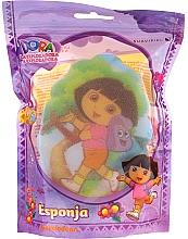 """Parfémy, Parfumerie, kosmetika Dětská houba """"Dora"""", 169-10, žlutá - Suavipiel Dora Bath Sponge"""