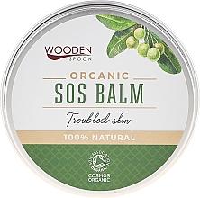 Parfémy, Parfumerie, kosmetika Tělový balzám - Wooden Spoon SOS Balm Trouble Skin