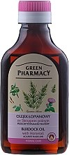 Parfémy, Parfumerie, kosmetika Lopuchový olej s extraktem přesličky proti vypadávání vlasů - Green Pharmacy