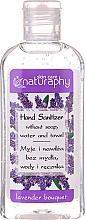Parfémy, Parfumerie, kosmetika Sanitizér na ruce s levandulovou vůní s obsahem alkoholu - Bluxcosmetics Naturaphy Alcohol Hand Sanitizer With Lavender Fragrance (mini)