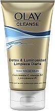 Parfémy, Parfumerie, kosmetika Čistící gel-peeling - Olay Cleanse Detox & Luminosity Facial Cleansing Gel