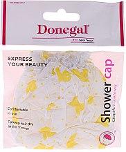 Parfémy, Parfumerie, kosmetika Sprchová čepice, 9298, ve žlutých vzorech - Donegal