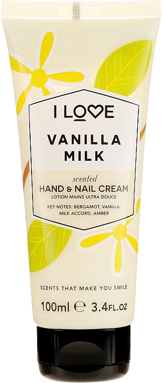 "Krém na ruce ""Vanilkové mléko"" - I Love Vanilla Milk Hand and Nail Cream — foto N1"