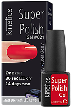 Parfémy, Parfumerie, kosmetika Jednofázový gel lak - Kinetics Super Polish
