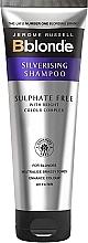 Parfémy, Parfumerie, kosmetika Bezsulfátový stříbrný šampon - Jerome Russell Bblonde Silverising Sulphate Free Brightening Shampoo
