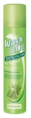 Suchý šampon pro mastné vlasy s extraktem z aloe - Wash&Go