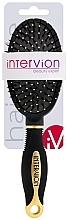 Parfémy, Parfumerie, kosmetika Pneumatický kartáč na vlasy, 499252, černo-zlatý - Inter-Vion