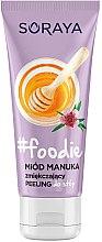 Parfémy, Parfumerie, kosmetika Změkčující peeling na nohy - Soraya Foodie Honey