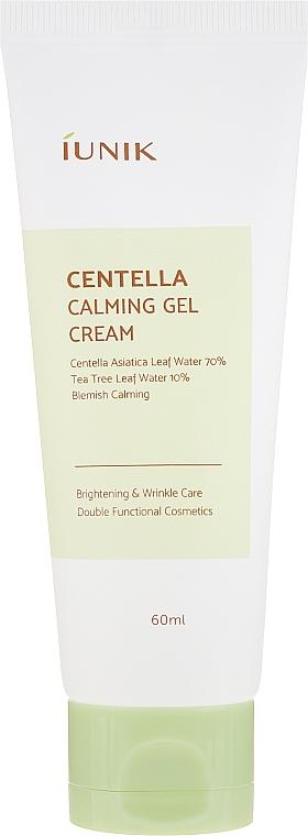 Zklidňující krém gel s gotu cola - IUNIK Centella Calming Gel Cream