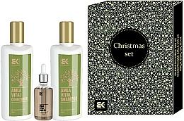 Parfémy, Parfumerie, kosmetika Sada - Brazil Keratin Amla Vital (cond/300ml + shm/300ml + hair/oil/50ml)