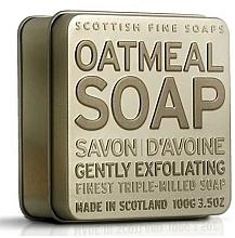 Parfémy, Parfumerie, kosmetika Mýdlo - Scottish Fine Soaps Oatmeal Soap In A Tin