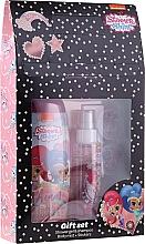 Parfémy, Parfumerie, kosmetika Sada - Uroda Polska Shimmer Shine Gift Set (sh/gel/250ml + b/mist/110ml + stickers)