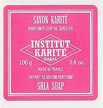 Parfémy, Parfumerie, kosmetika Mýdlo - Institut Karite Fleur de Cerisier Shea Soap