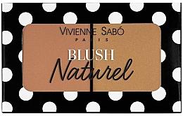 Parfémy, Parfumerie, kosmetika Dvojitá tvářenka - Vivienne Sabo Naturel Blush Duo
