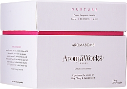 Parfémy, Parfumerie, kosmetika Bombička do koupele Výživa - AromaWorks Nurture Aroma Bath Bomb