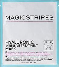 Parfémy, Parfumerie, kosmetika Intenzivní hydratační maska s kyselinou hyaluronovou - Magicstripes Hyaluronic Intensive Treatment Mask