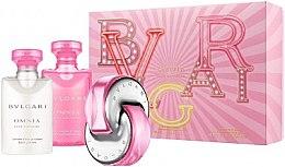 Parfémy, Parfumerie, kosmetika Bvlgari Omnia Pink Sapphire - Sada (edt/40ml + b/lot/40ml + sh/gel/40ml)
