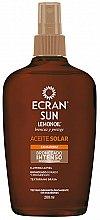 Parfémy, Parfumerie, kosmetika Intenzivní olej na opálení - Ecran Sun Lemonoil Intensive Tanning Oil Spf2